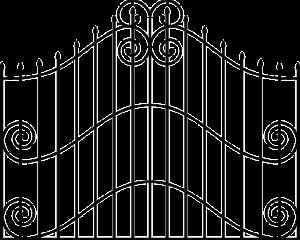 Gittermatten Tor