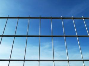 Doppelstabmattenzaun aus Stahl
